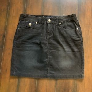 Gap corduroy skirt (navy)